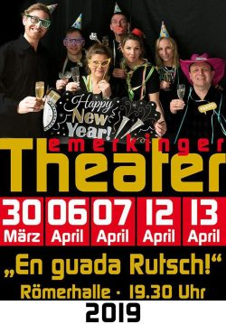 Plakat 2019 En guada Rutsch!